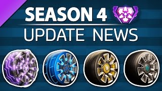 Rocket League SEASON 4 - Reward Wheels, New Ranked Tiers, Grand Champion Title