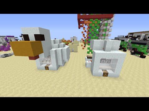 Minecraft Туториал 1.9+: Автоматическая Ферма Куриц