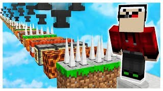 NOOB vs WORLDST MOST UNFAIR MINECRAFT MAP!