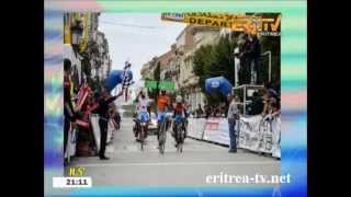 Eritrean Cyclist Amanuel Gerezghiher leads general classification of International Tour de Constanti