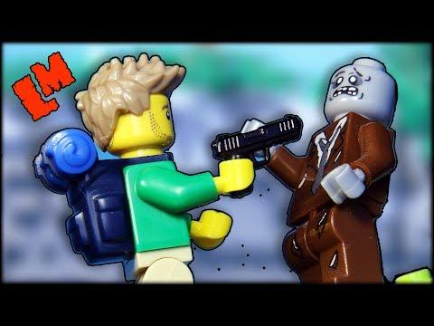 Лего-самоделка Гора Зомби. Кто-нибудь выживет?
