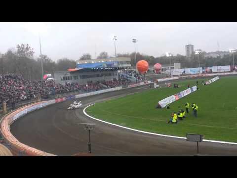 Żużel 2013 - Bieg #1 KMŻ Lublin // Polska Vs. Mistrzowie Świata