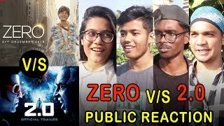 Zero Vs 2 0 Trailer Public Reaction | Shahrukh khna | Rajinikanth | Akshay Kumar