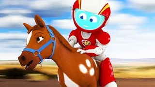 Space Ranger Roger | Roger Horses Around | Episode 5 | Cartoons For Children | Kids TV Shows