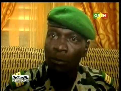 Nouvel homme fort du Mali le Capitaine Amadou Sanogo   Chef de la junte militaire