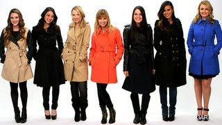 Best Trench Coats of the Season, Fall Fashion, Currently Trending
