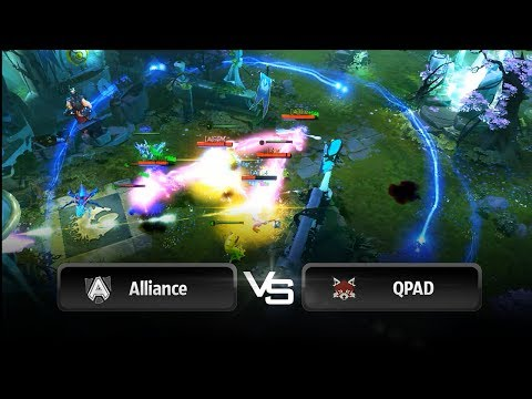 Fountain is nothing (Alliance vs QPAD) @ Starladder 8