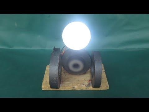 Free energy LED generator light bulb magnets with dynamo - Easy DIY light bulb 100% work thumbnail