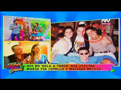 HOLA A TODOS 20/06/16 MARIA PIA RECORDÓ SUS INICIOS EN NUBELUZ JUNTO A ROSSANA Y MARCO ZUNINO