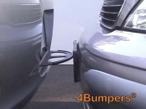 Car Bumper Guard >> 4Bumpers-THE BEST SOLID STEEL CAR BUMPER PROTECTOR - YouTube