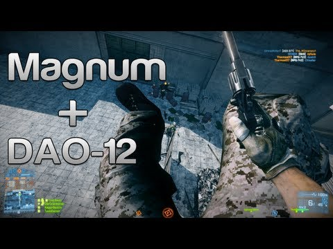 Battlefield 3 Magnum + DAO-12 + Troll DAO-12