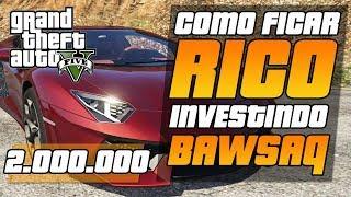 GTA V - COMO GANHAR 2.000.000 INVESTINDO EM AÇÕES DA IFRUIT- GTA 5
