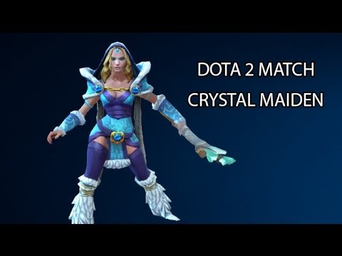 DOTA 2 with alan: Crystal Maiden