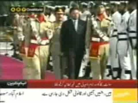 President Pervez Musharraf has resigned God Bless Pakistan