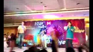 Medley at office function