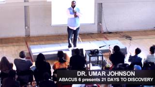 Dr. Umar Johnson in Washington DC Spring 2014