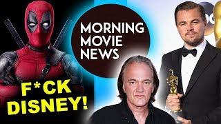 Deadpool 2 release date May 18th 2018, Leonardo DiCaprio cast in Tarantino Manson Murders