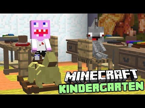 Minecraft Kindergarten : Lustige Spielzeuge - Actionfiguren - Toiletten - Minecraft Film Deutsch