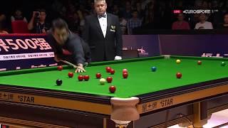 Ronnie O'Sullivan 100 v Sam Baird R1 China Championship 2017