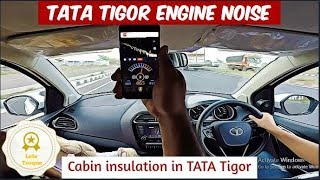 Engine Noise in Running Tigor VS Stationary Tigor   Revving Each Gear up to 4k RPM