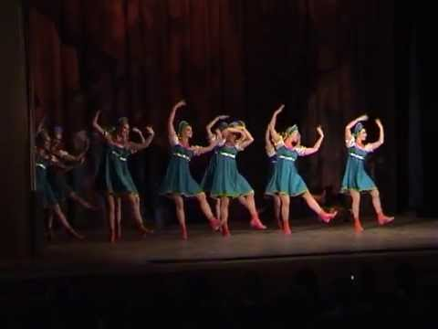 "Russian folk dance by ""Silver Night"". Choreography - Kalina Glazunova"