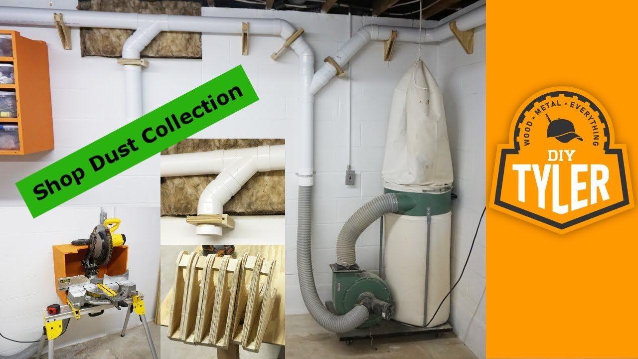 Shop Dust Collection System 021 Youtube