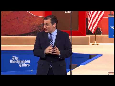 Ted Cruz CPAC 2015 Ted Cruz BLASTS Hillary, Takes Questions from Hannity at CPAC 2015