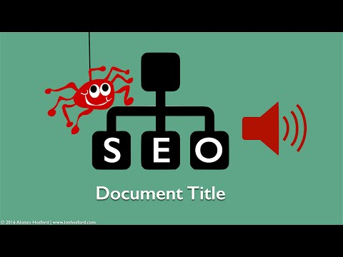 How to Make a SEO Friendly Web Page Title