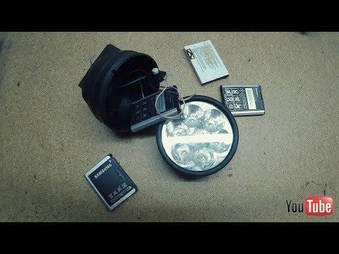 ✅Вечный фонарик из мобильного аккумулятора