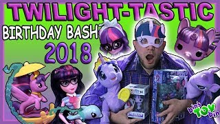 Princess Twilight Sparkle Birthday Bash 2018!   Bins Toy Bin