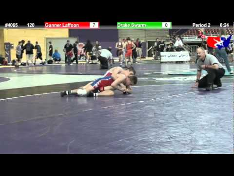 FSN 120: Gunner Laffoon (Tuttle High School) vs. Drake Swarm (Knight Wrestling Academy)