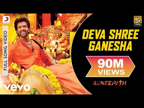 Agneepath - Deva Shree Ganesha Video | Hrithik Roshan, Priyanka video