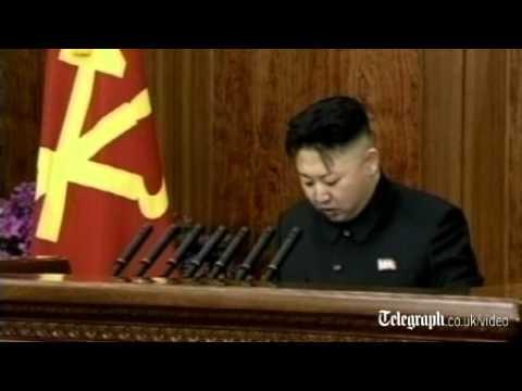 North Korea's Kim Jong-un makes rare New Year's speech