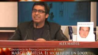 Conferencia de prensa Alex Marvel