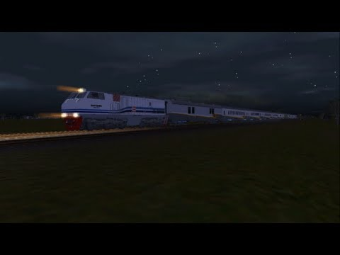 Trainz Simulator add on Indonesia [KA Gajayana]