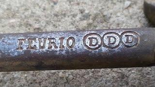Odkrycie depozytu. FEURIO DDD