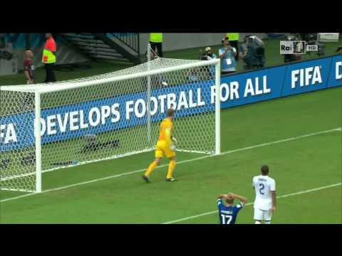 Joe Hart Calls For The Ball After Pirlo Free Kick - England vs Italy - World Cup 2014