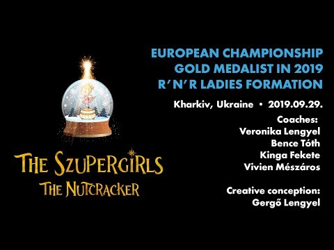 ROCK AND MAGIC SE, Hungary - The Szupergirls ladies formation - European Championship 2019