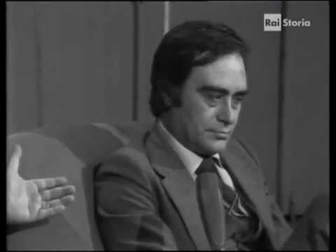 """Intervista al giudice Antonino Scopelliti (""""Bontà loro"""" di Maurizio Costanzo, 1978)"""