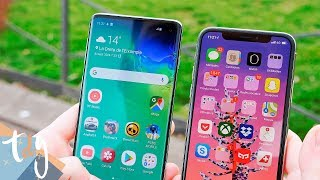 EL CLÁSICO: Samsung Galaxy S10 vs iPhone XS