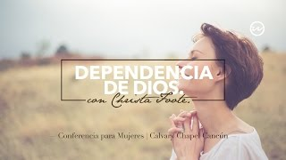 Dependencia de Dios @ Salmo 62 — Christa Foote.