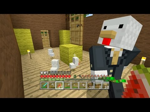Minecraft Xbox Sky Den Chickens In A Suitcase 21