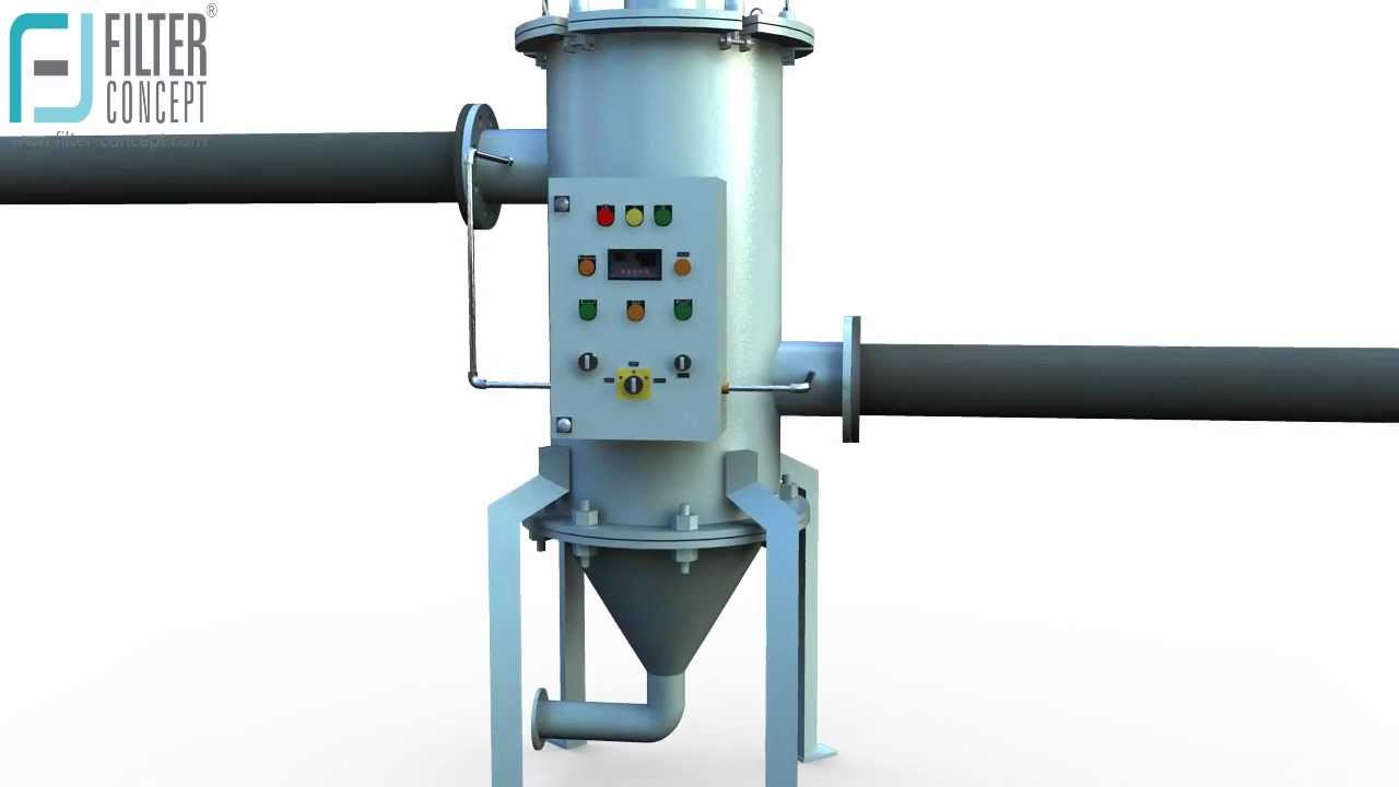 Scrapper Mechanism Self Cleaning Filter Systems