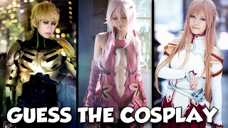 CAN YOU GUESS THE COSPLAY?
