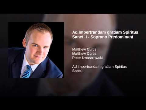 Ad Impertrandam gratiam Spiritus Sancti I - Soprano Predominant