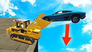 BULLDOZERS vs. SUPERCARS SUMO DERBY! (GTA 5 Funny Moments)
