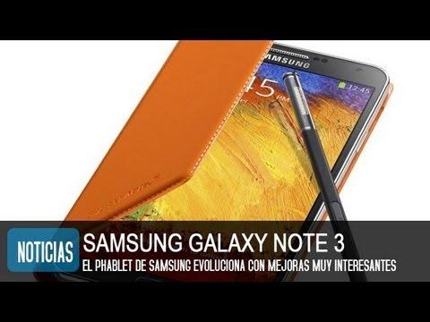 Samsung Galaxy Note 3. precio y características