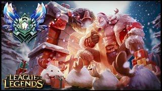 SANTA BRAUM vs LUX SUPPORT [GUIA S7 en ESPAÑOL] - League of Legends