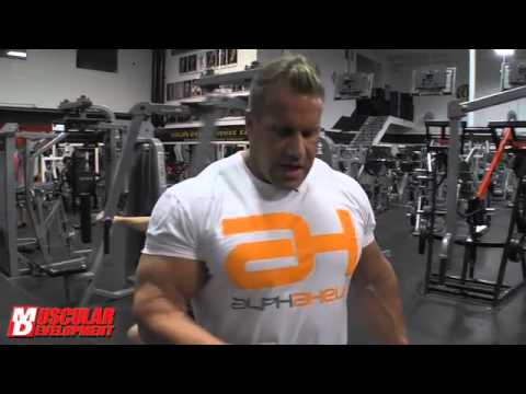 Delt Destruction with 4X Mr Olympia Jay Cutler - Road to OLYMPIA 9/8/12