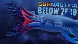 OUR FIRST LOOK AT THE SQUIDSHARK... IT'S TERRIFYING   Subnautica Below Zero News
